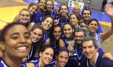 A semana do Voleibol: Seniores conquistam a Taça AVL
