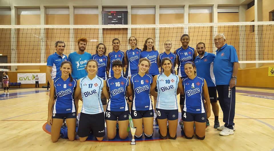 Mão cheia de vitórias para o Voleibol do Belenenses