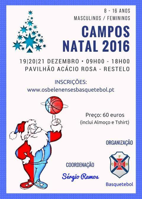 Campos de Natal do Basquetebol