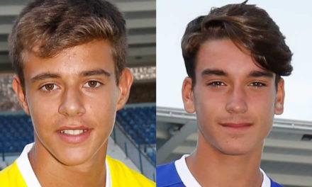 João Pedro Oliveira e Tomás Gutierres nas Selecções Sub-15
