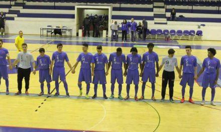 Sub-20 de Futsal garantem Fase Final de Apuramento de Campeão
