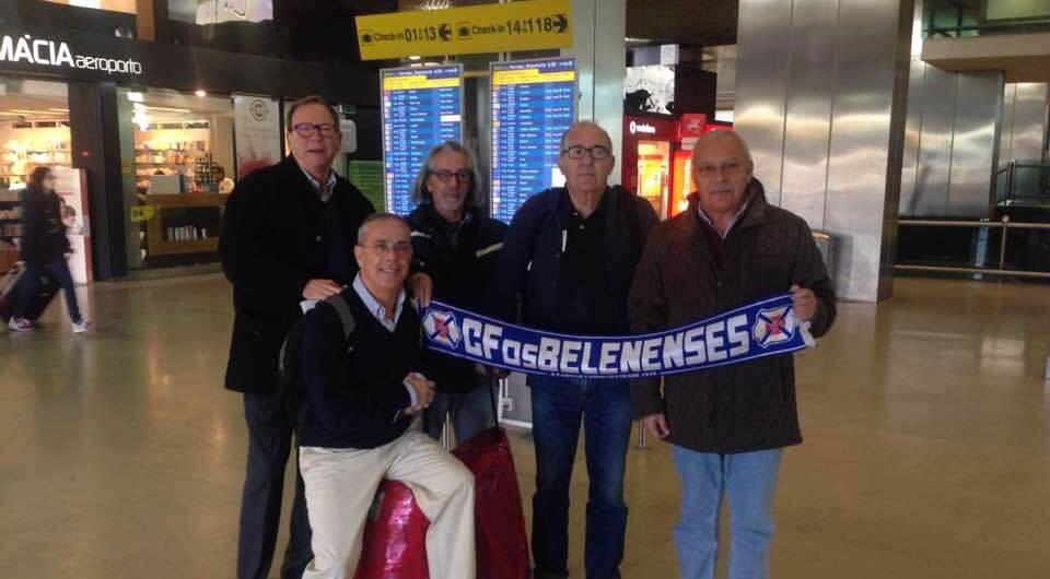 Merchandising do Belenenses em expedição pelo Oriente