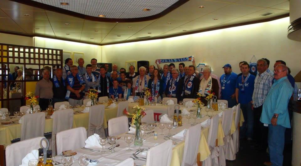 Adeptos da Madeira reúnem-se antes do jogo com o Nacional