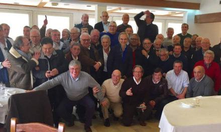 Veteranos e amigos do Andebol em convívio