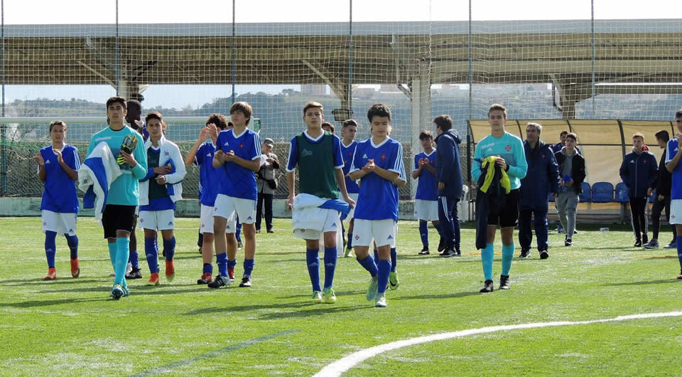 Sub-15 na final da IV Major Rosa Bastos Cup