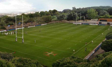 1ª pedra do Belém Rugby Park no dia 25 de Março