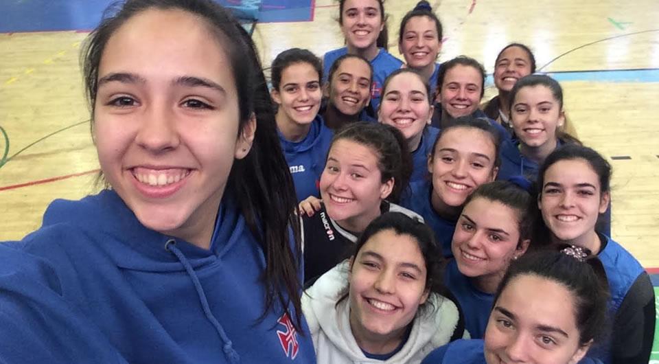 Juniores classificam-se para a Final 8 do Campeonato Nacional