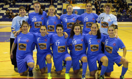 1/4 de final do Play-off feminino frente ao Alenquer
