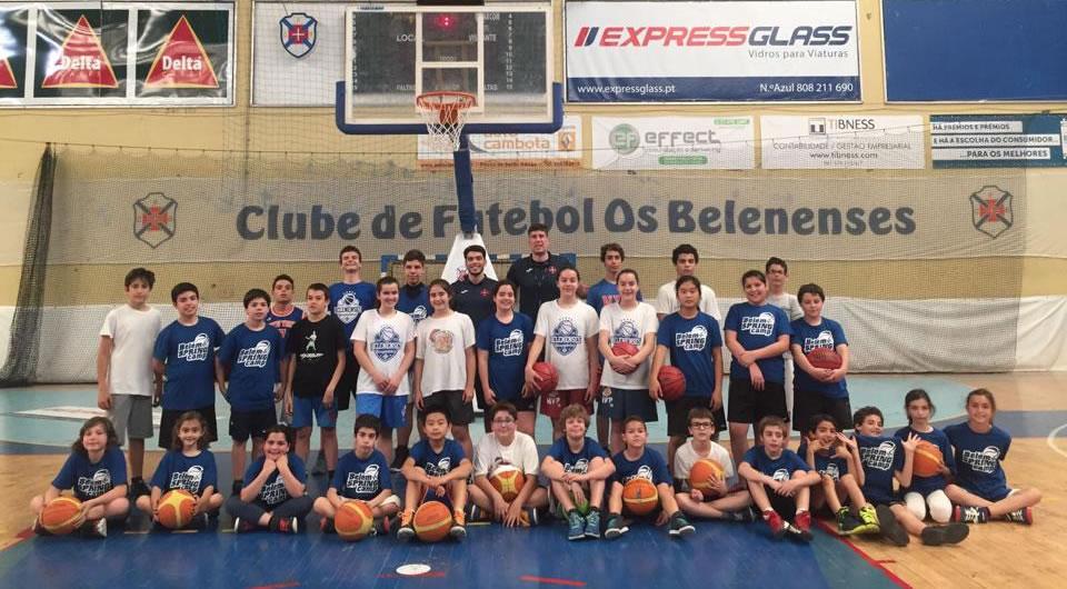 'Belém Spring Camp' chegou ao fim