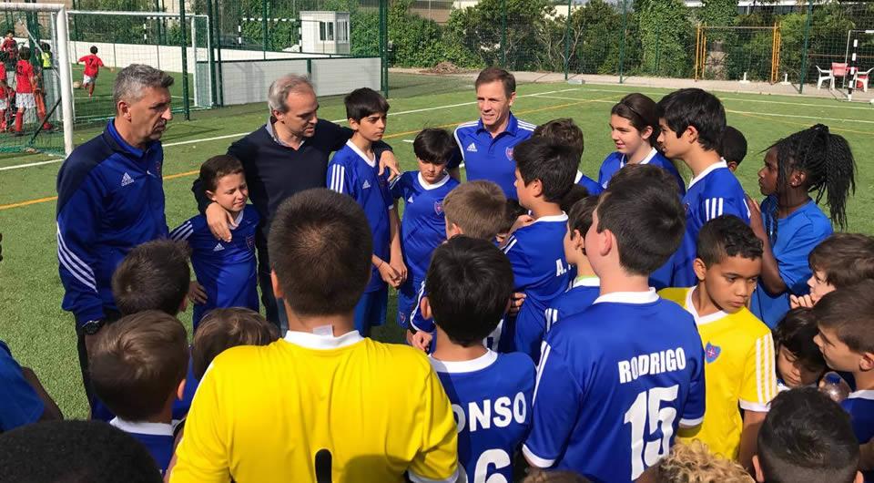 Inauguração da Escola de Futebol Os Belenenses de Alfragide