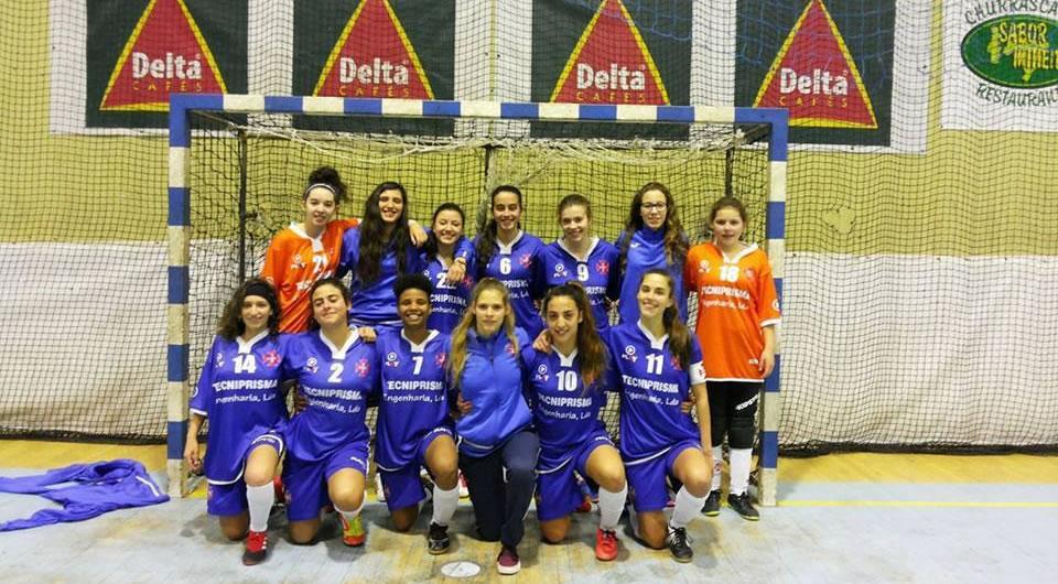 Juniores femininas vencem Torneio Solidário