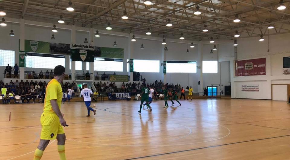 Azuis agarram à condição o 4º lugar da Liga SportZone