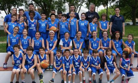 Minibasquete com mais de 30 atletas em Reguengos