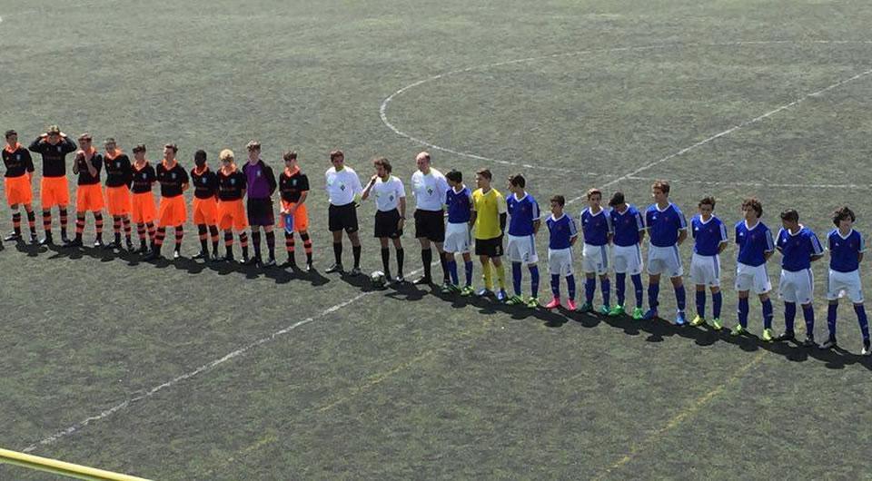 Sub-14 em final com o Málaga