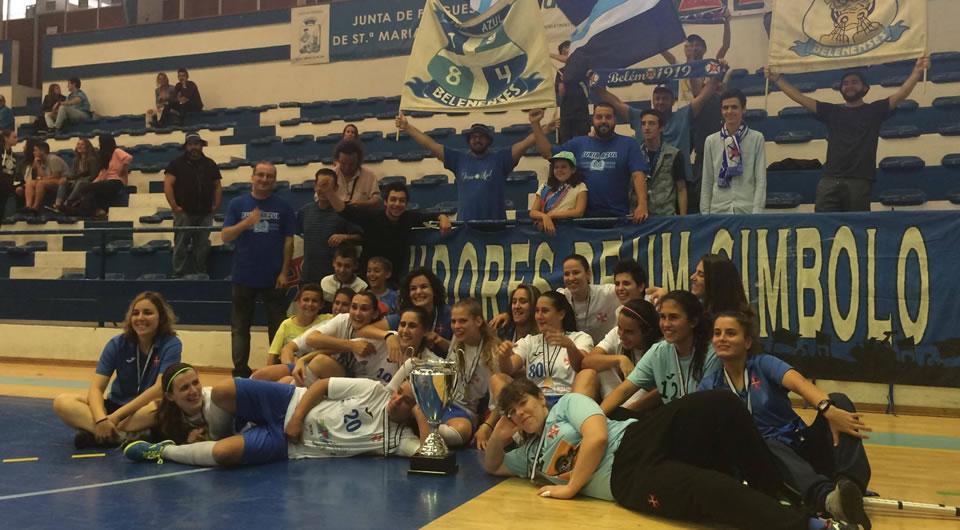 Futsal feminino: parabéns Campeãs!
