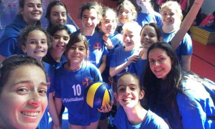 Equipas da formação em acção no Torneio Prof.ª Adelaide Patrício