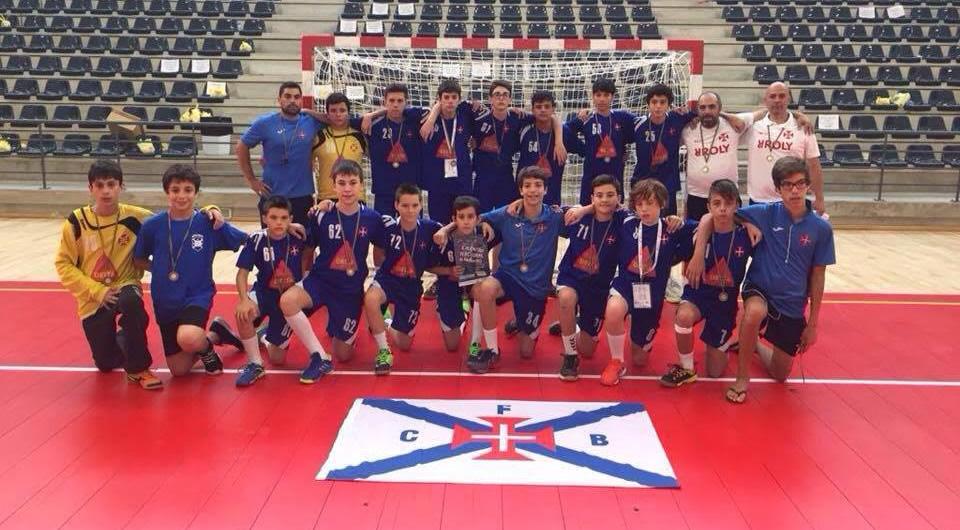 11º lugar entre as 32 melhores equipas nacionais de Infantis