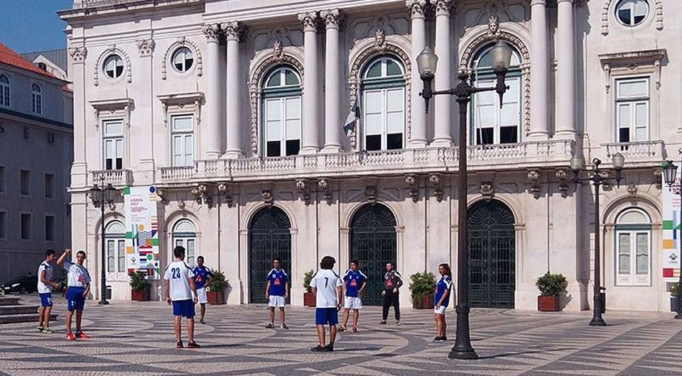Belenenses com Lisboa Capital Europeia do Desporto 2021