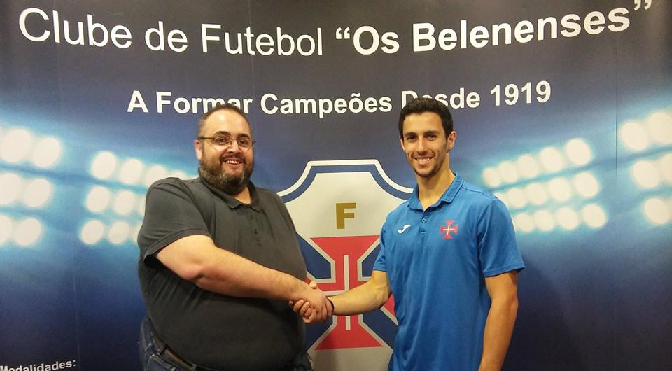 Nuno Santos é reforço para 2017/18