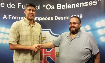 Sérgio Ramos continua no comando técnico do Basquetebol azul