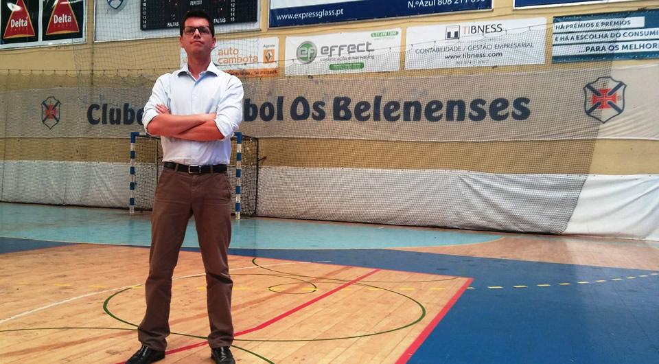 Francisco Leão Carvalho é Director do Basquetebol