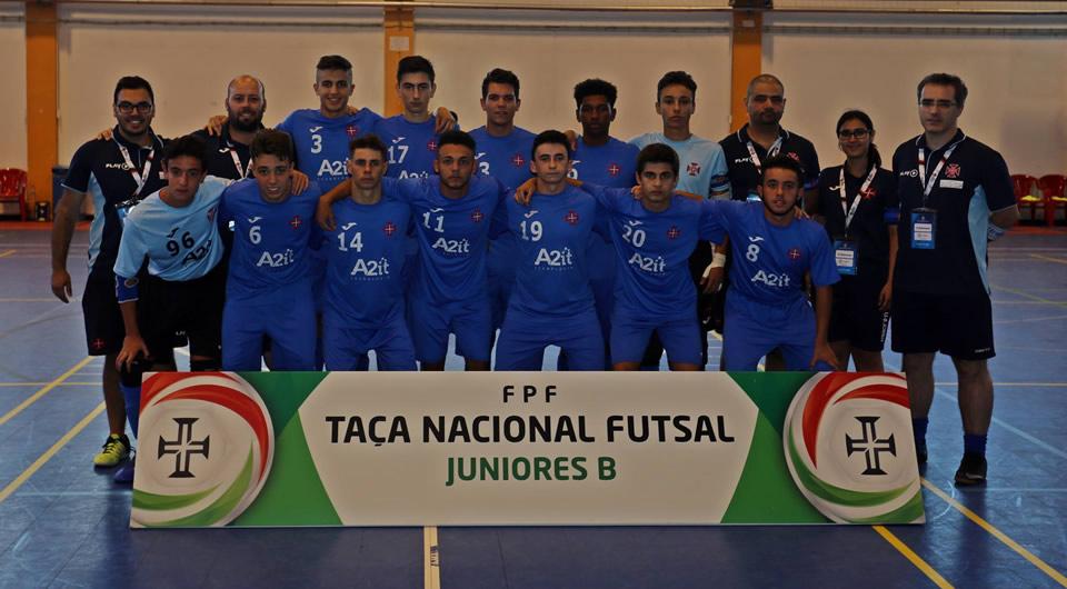 Sub-17 entram a ganhar na Final-4 da Taça Nacional