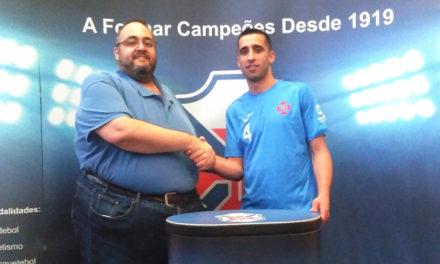André Nabais continua de azul