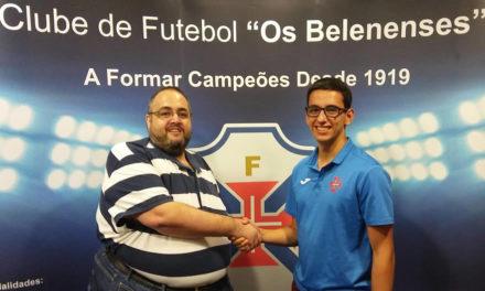 Diogo Moreira é reforço do Andebol