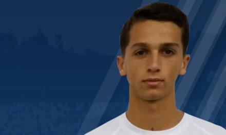 Sub-19: Diogo Carvalha é reforço