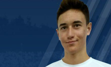 Sub-19: Dylan Collard reforça a equipa
