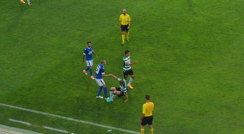 Derby jogado no Algarve termina com empate a um golo
