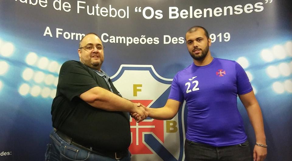 Neutel é reforço na baliza do Futsal