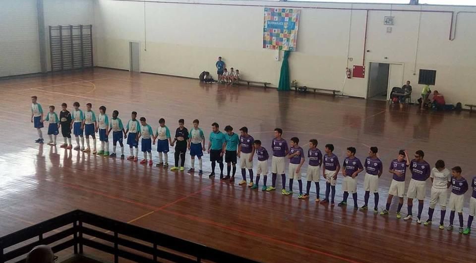 Sub-15 em 2º lugar na Guimarães Cup