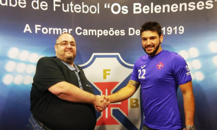 Futsal: Tiago Gomes é o segundo reforço para a baliza
