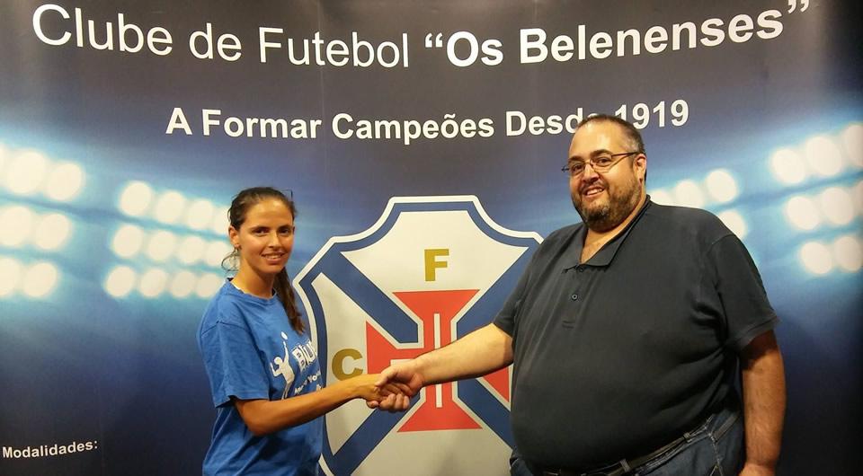 Brígida Ferreira avança para a sua 8ª época no voleibol azul