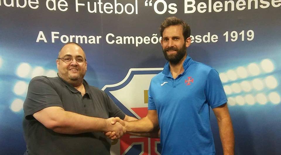 Pierre Malfoy chega de França para reforçar a equipa sénior