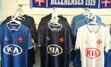Camisolas oficiais da equipa de futebol já à venda na Loja Azul