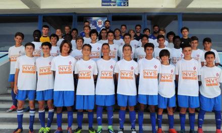 Iniciados A começam domingo o Nacional de Sub-15