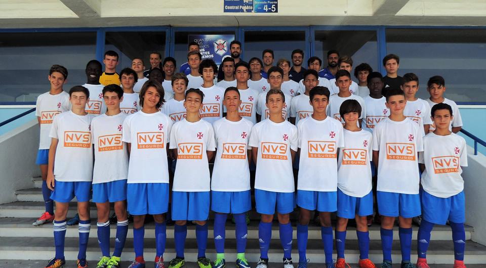 Iniciados garantem a 2ª Fase do Campeonato Nacional de Sub-15