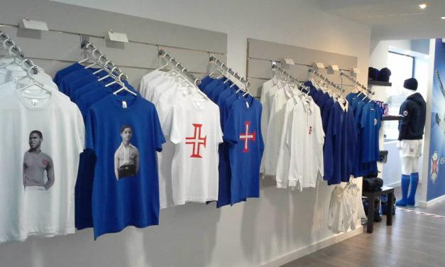 Reabertura da Loja Azul a 18 de Janeiro
