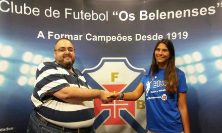 Mariana Gomes é reforço no Voleibol