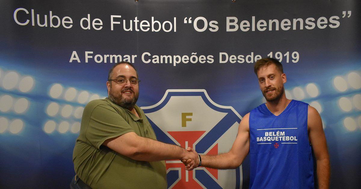 Nuno Monteiro regressa ao Belenenses