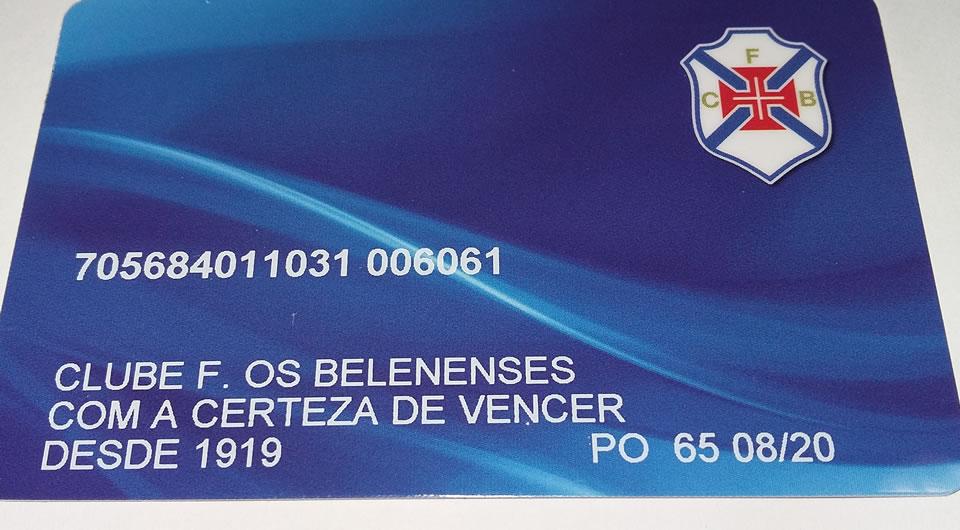Já tem o seu cartão BP / Belenenses?