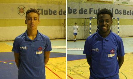 Pedro Mónica e Milton Dias novamente chamados à Selecção Nacional Sub-18