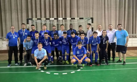Azuis no segundo lugar da Taça de Honra de Sub-20 de Futsal