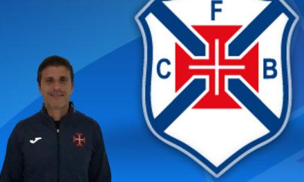 Paulo Caldeira é técnico adjunto da equipa sénior