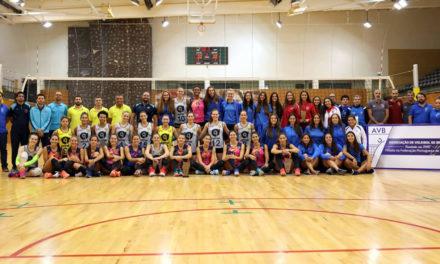Todos em preparação para uma época de sucesso no Voleibol