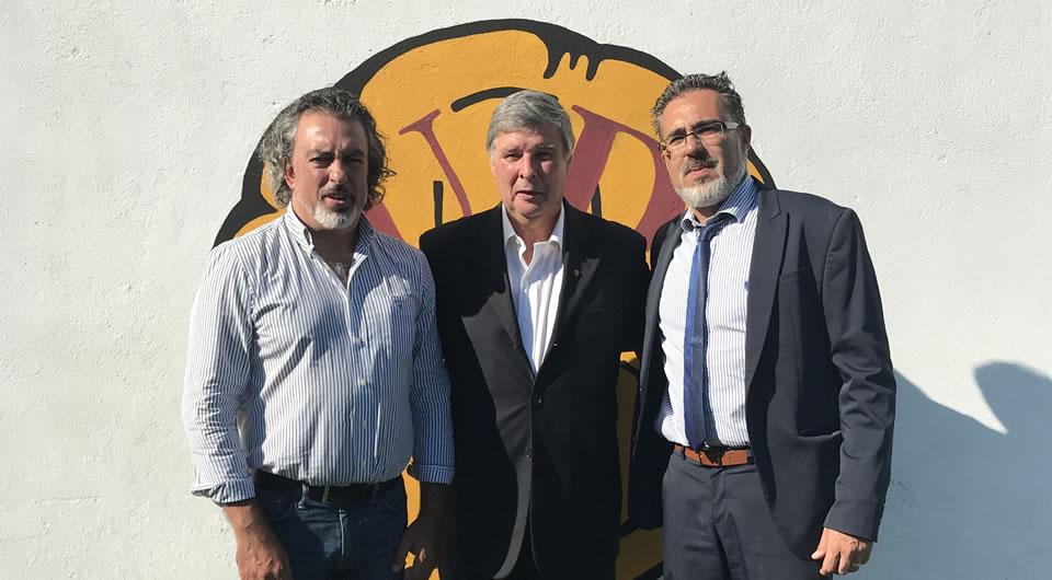 Belenenses visitou a União Desportiva de Bustos