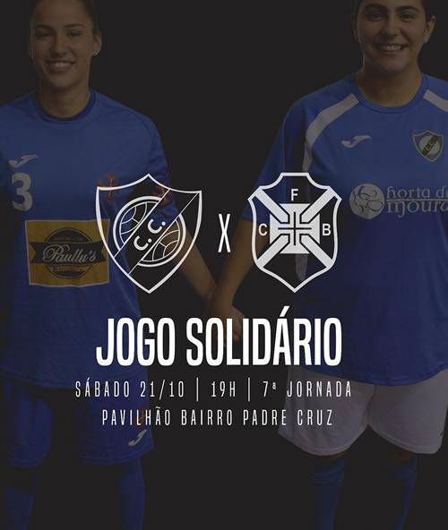 Futsal Feminino   Jogo Solidário