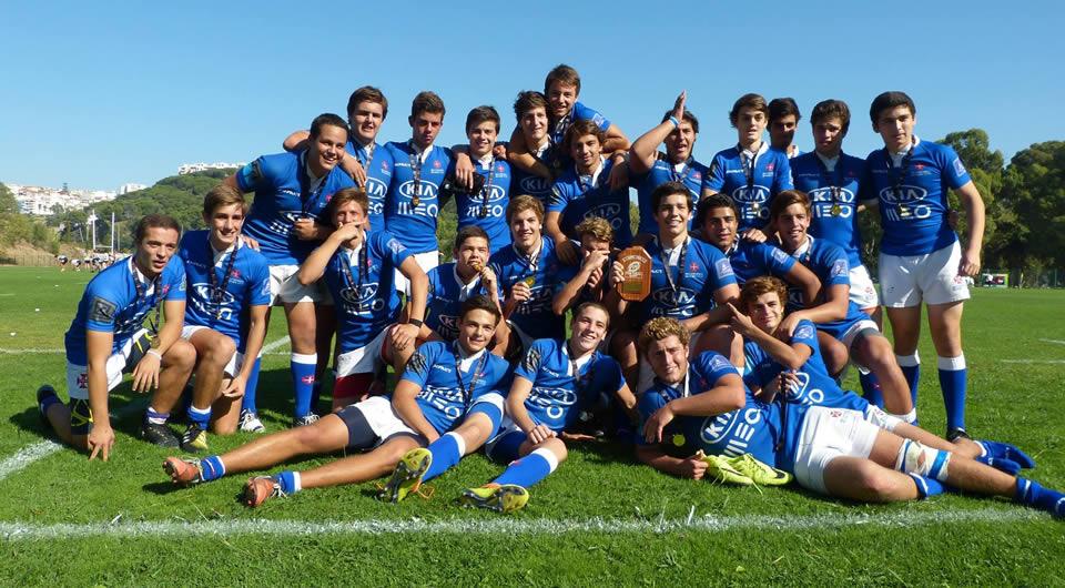 Supertaça Sub-18 de Rugby viaja para o Restelo